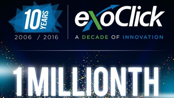 ExoClick Announces Promo for Millionth Ad Campaign