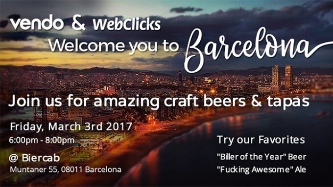 Vendo, WebClicks Plan Roll-Out Event in Barcelona