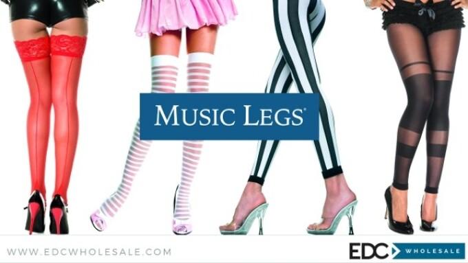 Music Legs, EDC Wholesale Expand Lingerie Partnership