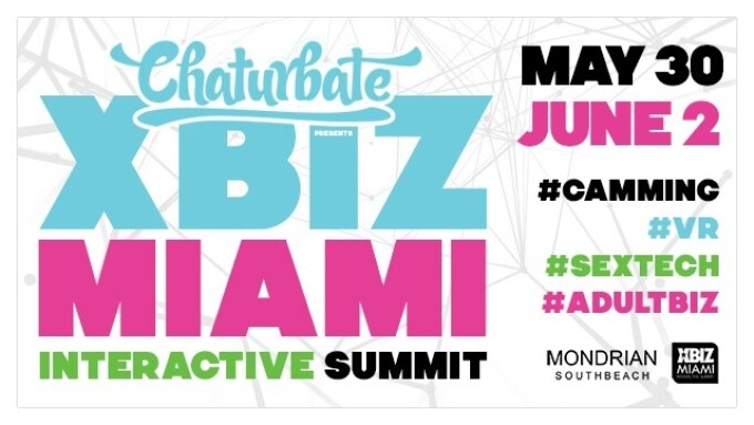 Chaturbate Signs On as Presenting Sponsor of XBIZ Miami