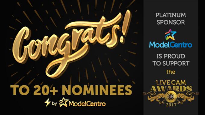 ModelCentro Sponsoring Live Cam Awards