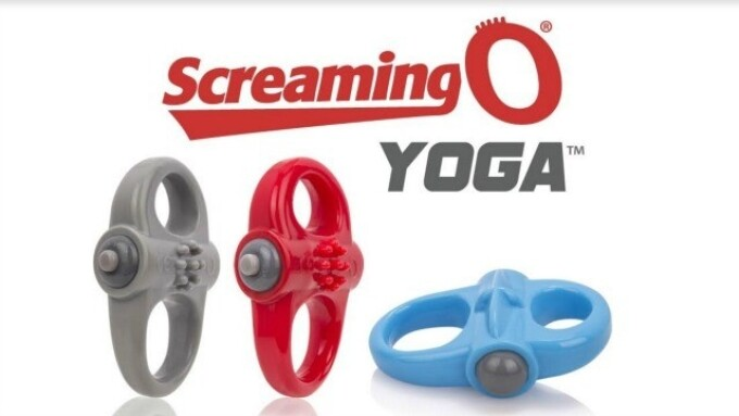 Screaming O's Yoga Cock Ring Can Be Worn 3 Different Ways