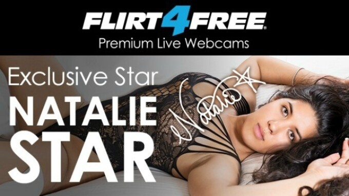 Flirt4Free Renews Exclusivity Deal With Natalie Star