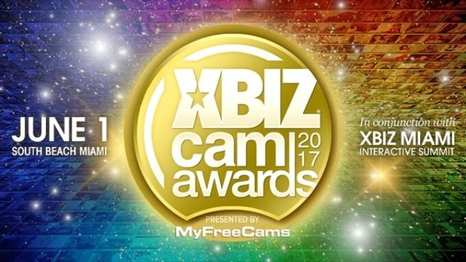 XBIZ Cam Awards Pre-Nom Period Now Open