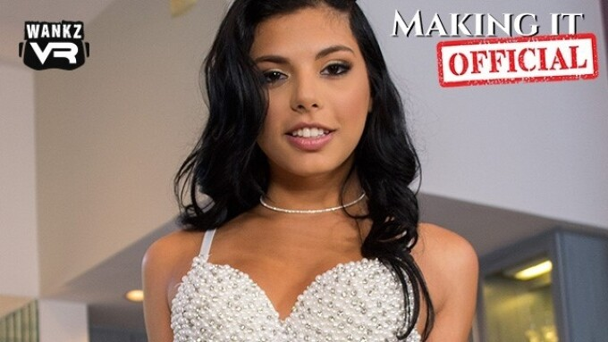 WankzVR's 'Making It Official' Stars Gina Valentina