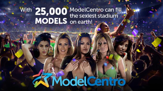 ModelCentro Reaches Milestone, Signs 25,000th Model