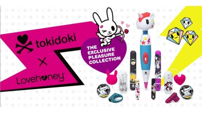 Tokidoki x Lovehoney Nominated for LIMA Award