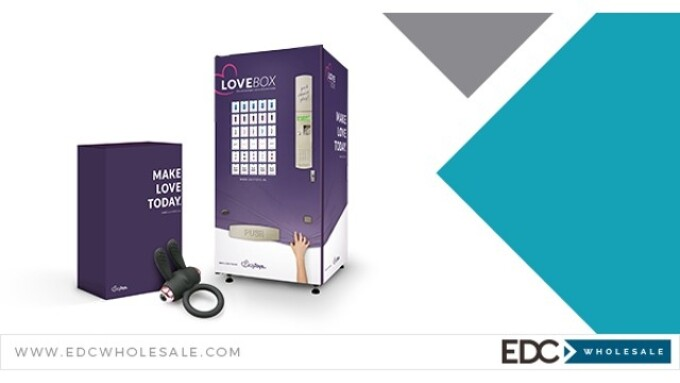 EDC Wholesale Placing 'LoveBox' Vending Machines in Hotels