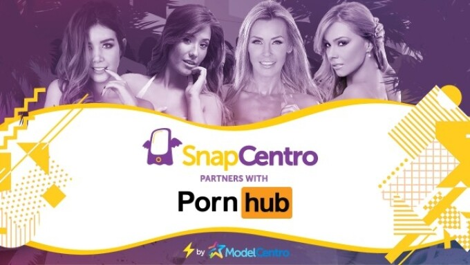SnapCentro Partners With Pornhub to Boost Performer Exposure