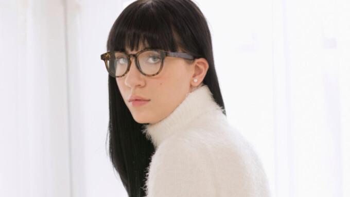 Charlotte Sartre Gets a 'Lesson in Discipline' for Tushy.com
