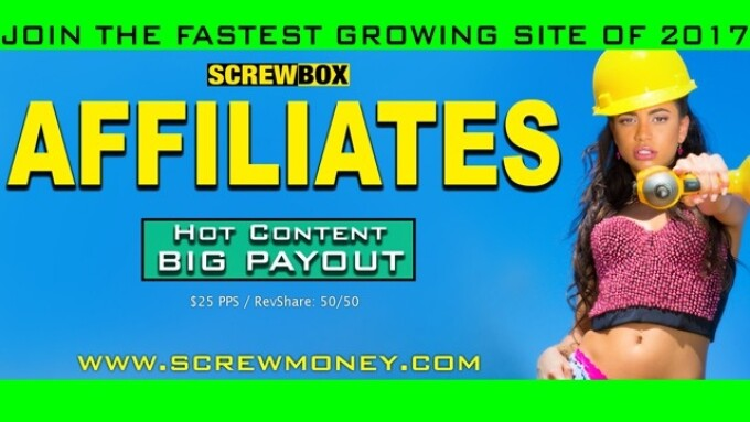 Screwbox Launches Screwmoney Affiliate Program