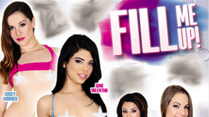 Evil Angel, BAM Visions Release 'Fill Me Up'