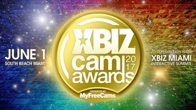 1st XBIZ Cam Awards Finalist Nominees Announced