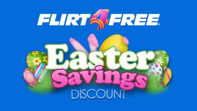 Flirt4Free Announces Easter Egg Hunt Contest With $1,000 Grand Prize