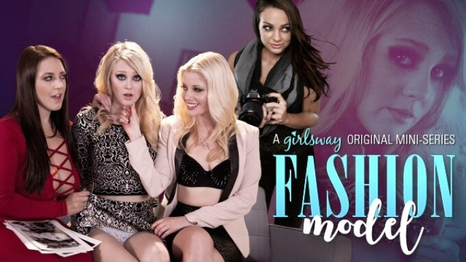 Girlsway Debuts 'Fashion Model' Miniseries Featuring Lily Rader