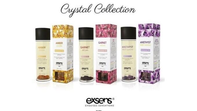 Exsens Debuts 3 Crystal Massage Oils