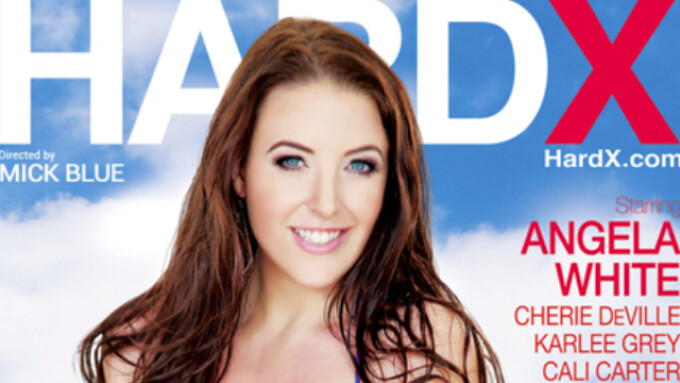Angela White Makes Her Hard X Debut in 'Wet Curves'