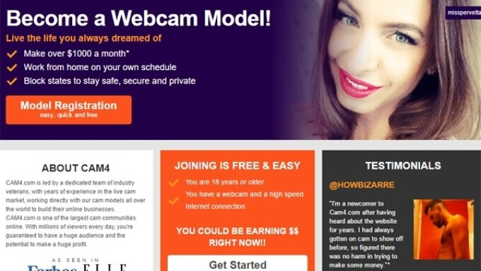 CAM4 Debuts 'My Shop' for Performers