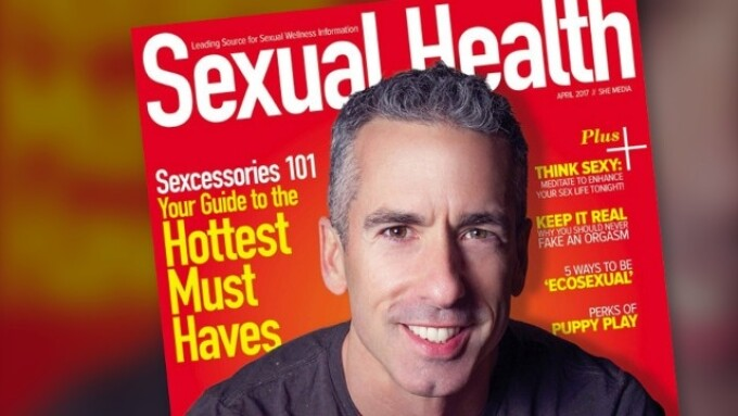 Dan Savage Profiled in Spring Issue of Sexual Health Magazine