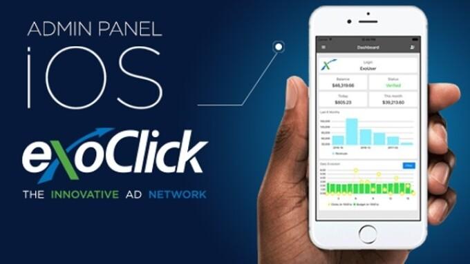 ExoClick Debuts Admin App for iOS