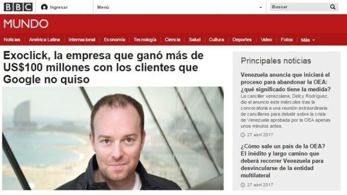 ExoClick CEO Benjamin Fonzé Profiled in BBC Interview