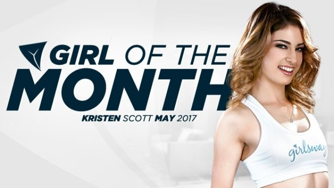 Kristen Scott Named Girlsway Girl of the Month