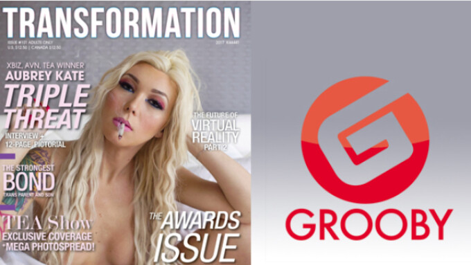 Grooby Takes Over Transformation Magazine's Editorial Content