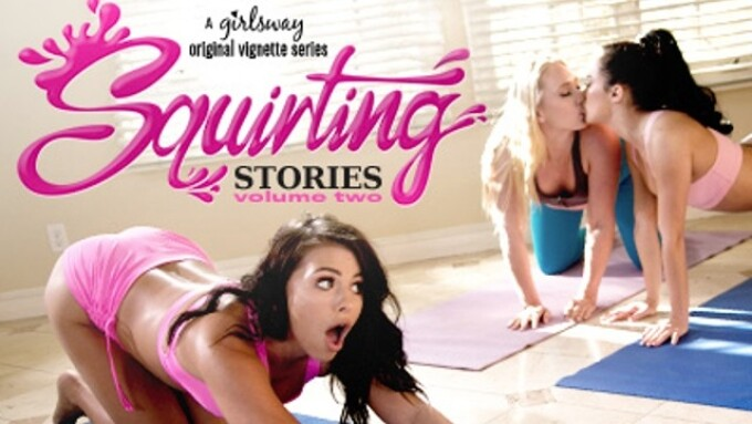 Girlsway Streets 'Squirting Stories 2'