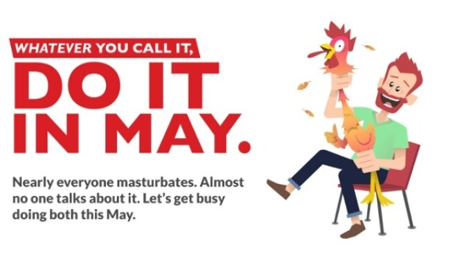 Tenga Celebrates Masturbation Month With '#DoItInMay' Campaign