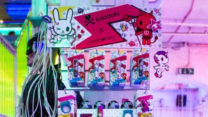 tokidoki x Lovehoney Now Available at Camden Town's Cyberdog