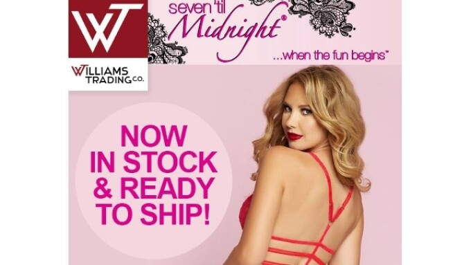 Williams Trading Co. Now Shipping Seven 'til Midnight Lingerie