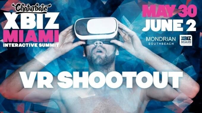 XBIZ Miami Reveals VR Shootout Contestant Lineup