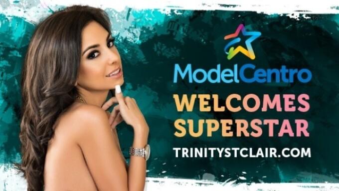 ModelCentro Powering Trinity St. Clair's Website