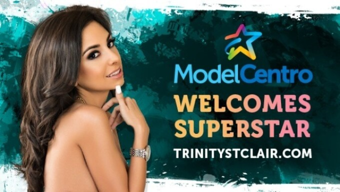 ModelCentro Powering Trinity St. Clair's Website