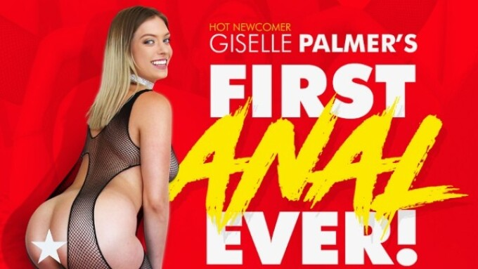 Evil Angel, Mike Adriano Offer Giselle Palmer's 1st Anal Scene