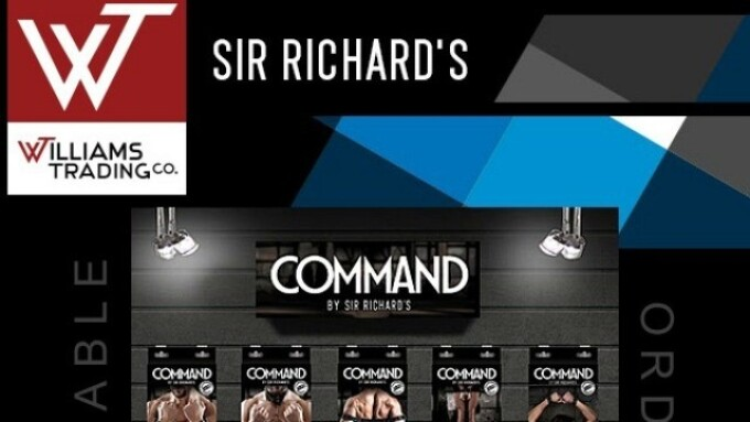 Williams Trading Now Shipping Sir Richard's Command
