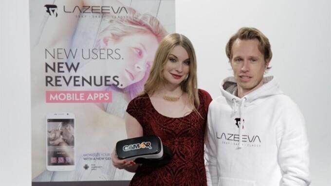 CAM4, Lazeeva Partner for VR Apps