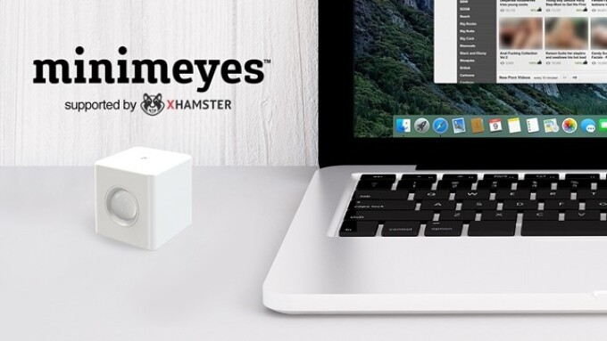 Video: xHamster Backs Minimeyes Motion Sensor