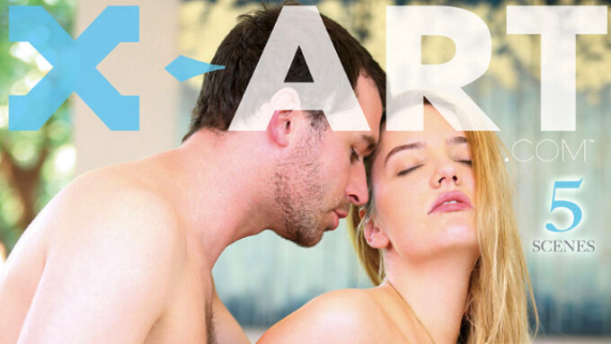 ASM, X-Art Street 'Her Sexual Fantasy' With Kenna James' 1st B/G