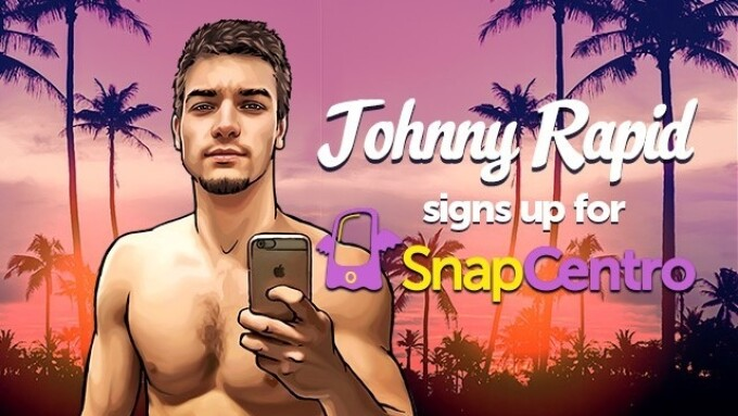 Johnny Rapid Becomes Newest Male Model to Join SnapCentro