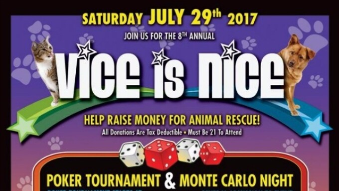 'Vice Is Nice' Charity Event Set for July 29