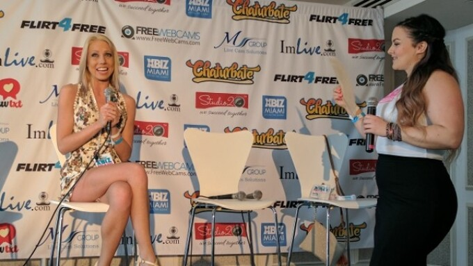XBIZ Miami: Shawna Lenee, Nikki Night Slay Chat Room Panel