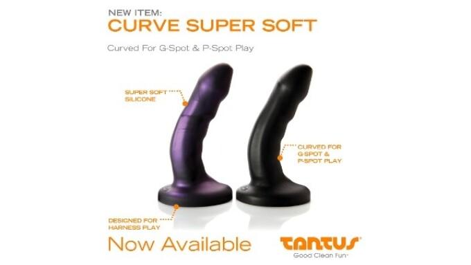 Tantus Releases 'Curve Super Soft' Dildos