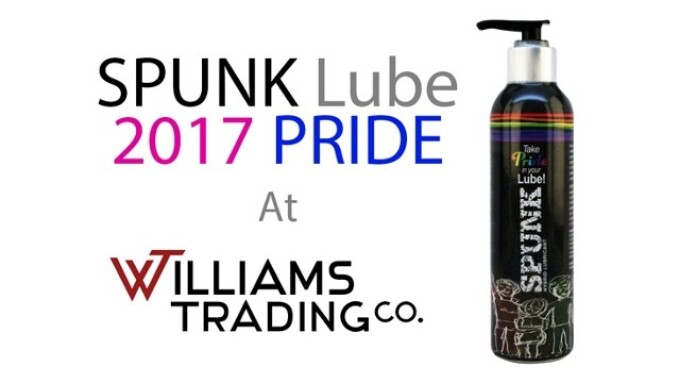 Williams Trading Now Shipping Spunk Lube 2017 Pride