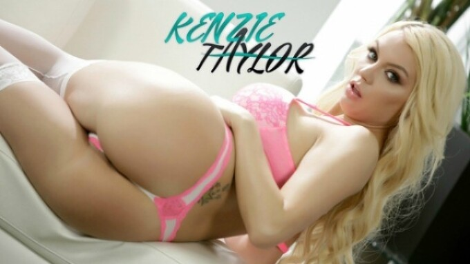 Crush Girls Launches Official Kenzie Taylor Site