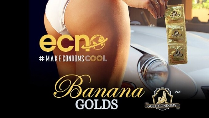 East Coast News Exclusively Offering Banana Gold Condoms