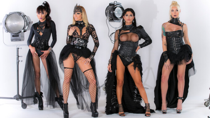 On the Set: Jessica Drake Fashions Trans Haute Couture