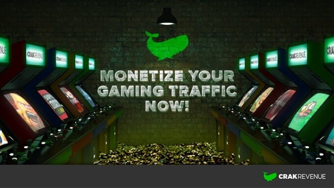 CrakRevenue Enters Gaming Arena With 50+ Offers
