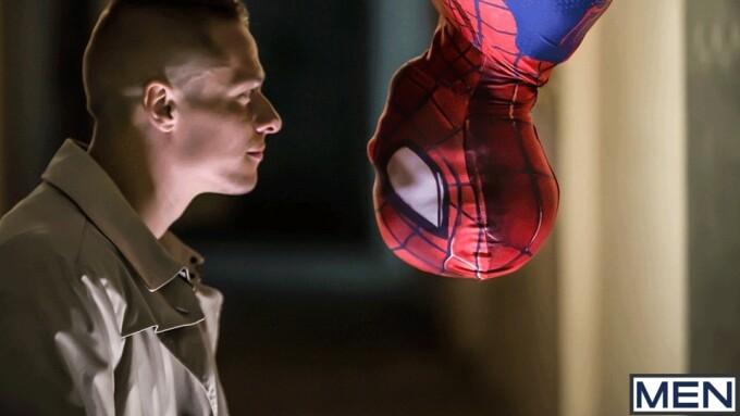 Men.com's 'Spider-Man: A Gay XXX Parody' Debuts Friday