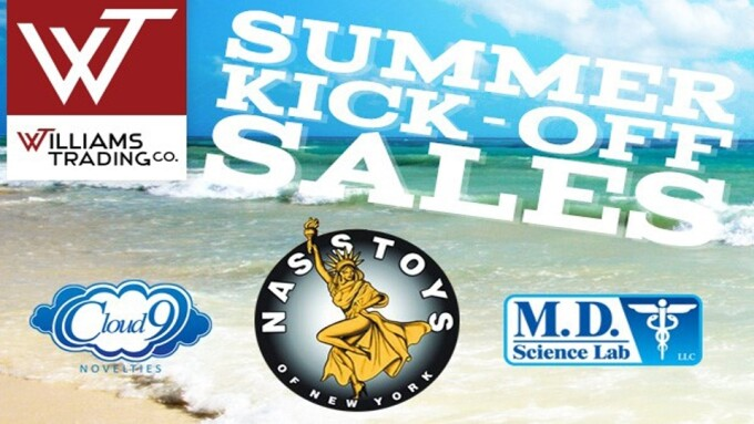 Williams Trading Announces 'Summer Kick-off Sale'